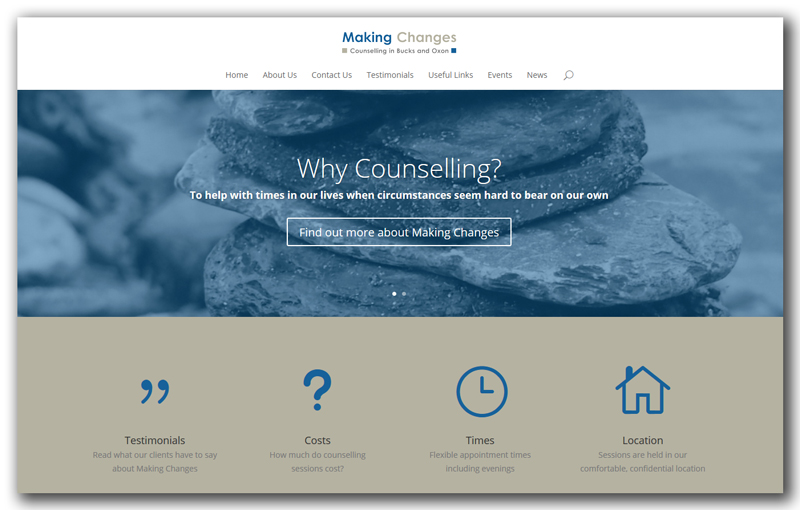 Making Changes New Website Goes Live